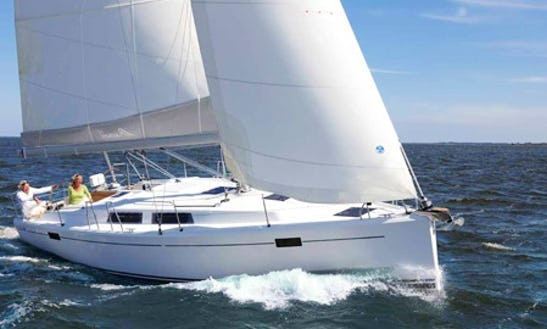 Charter A 38' Hanse Sailing Yacht In Zeeland, Netherlands For 7 Person
