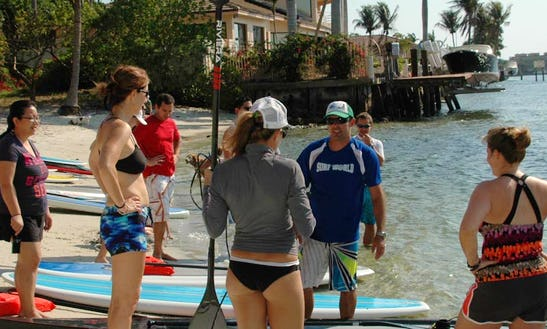 Sup Lesson In Pompano Beach Florida