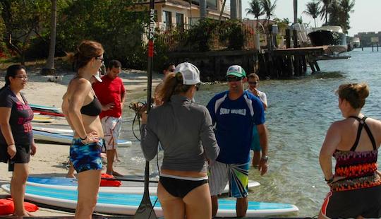 Sup Lesson In Pompano Beach Florida