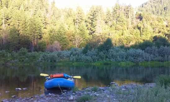 Inflatable Kayaking On The Rogue River
