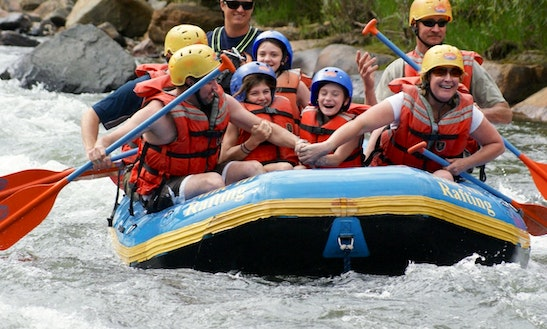 Clear Creek River Rafting In Colorado