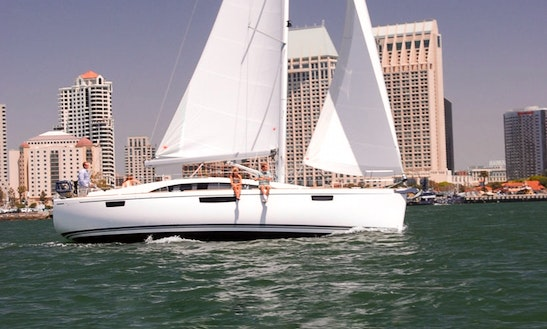 Enjoy Bavaria Vision 42' Sail Trips In San Diego