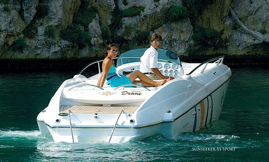 Charter Valium Speed Boat In Sainte-maxime