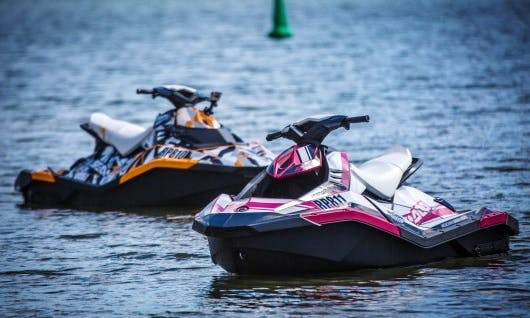 2015 Spark Jet Ski Rental at Lake Minnetonka
