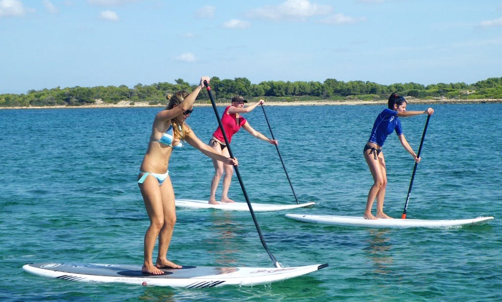 1 hour SUP Rental in Can Pastilla, Spain