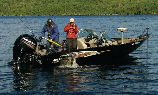 Princecraft Fishing Boat Rental In St-placide