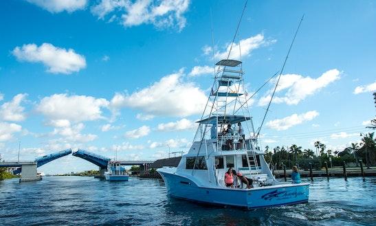 50 39 carolina sportfish fishing charter in fort lauderdale for Hollywood florida fishing
