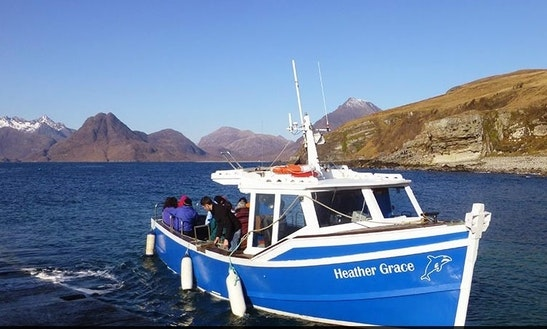 32' Carvel Boat In Elgol