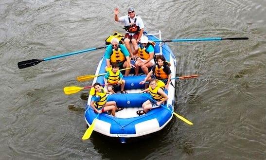 Rafting Trip In Colorado