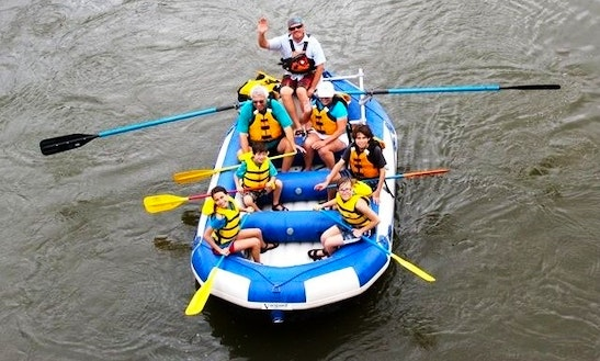 Rafting Trip In Colorado