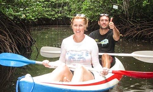 Kayaking in Lembongan island