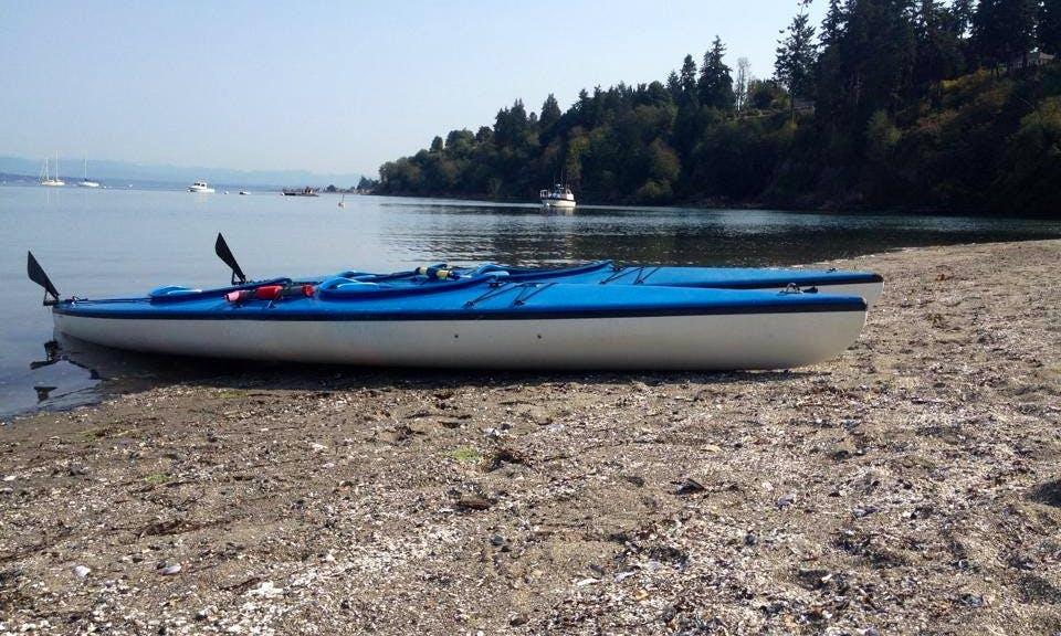 Single Kayak Rental on Whidbey Island, Washington