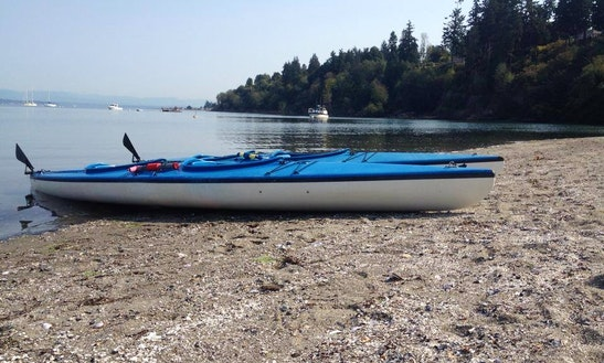 Single Kayak Rental On Whidbey Island, Washington