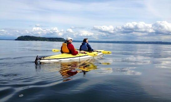 Tandem Kayak Rental On Whidbey Island, Washington