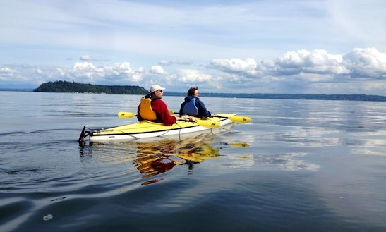 Tandem Kayak Rental On Whidbey Island, Washington