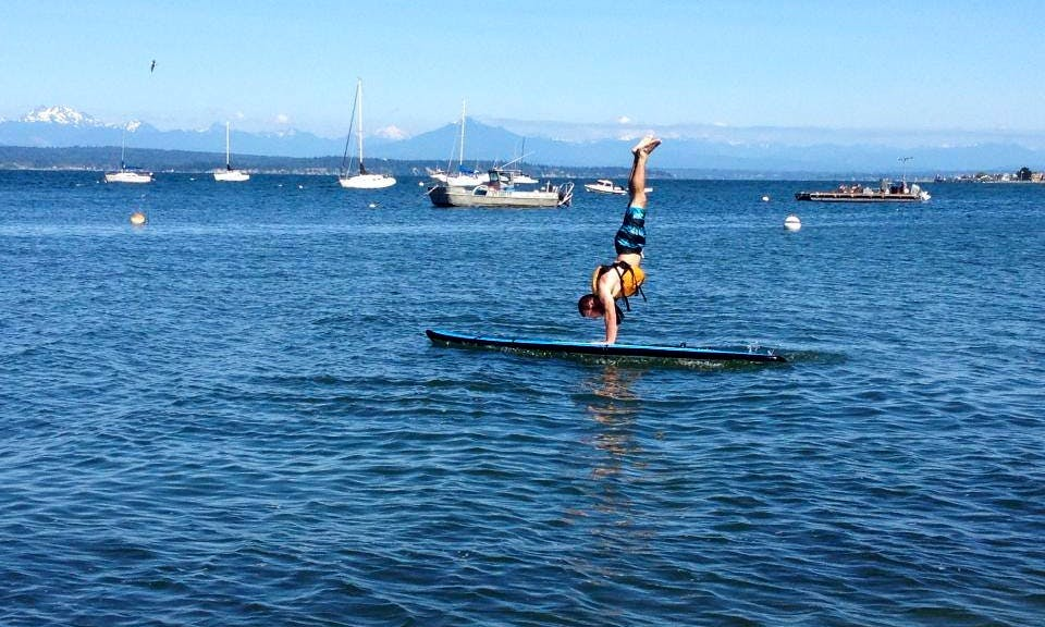 Stand Up Paddleboard Rental On Whidbey Island Washington