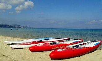 Stand Up Paddleboard Rental in Alykes Beach Zakynthos
