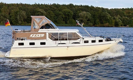 Have An Amazing Time In Berlin, Germany On This Keser-hollandia Yacht