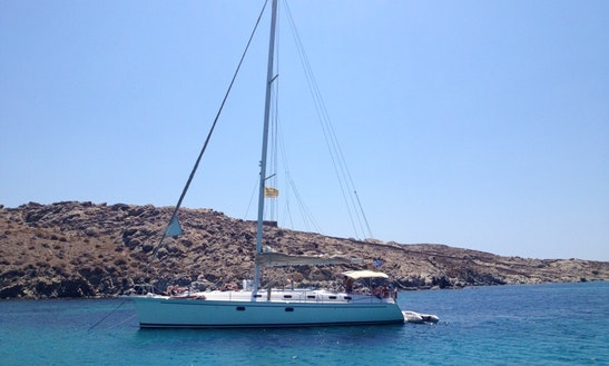 Charter S/y Monohull Dufour Gib 'sea 51' C In Mykonos