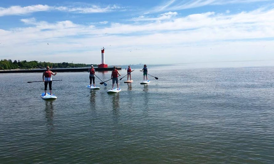 Stand Up Paddle Board Rentals & Lessons in Toronto