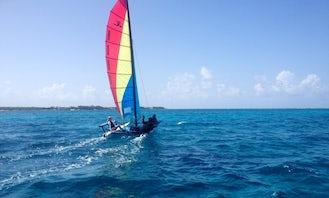 Hobie Cat Sailing Rental in Grand Cayman