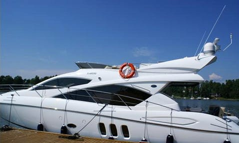 Discover the Gorgeous Places in Finland with Amazing 6 people Manhattan 52 Motor Yacht