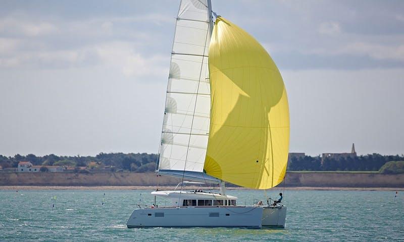 Cruising Catamaran Rental in San Vincenzo