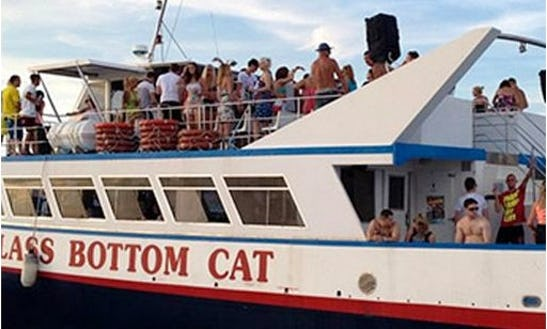 Luxury Power Catamaran '150 Party Boat' Charter  In Sant Antoni De Portmany