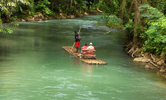 Bamboo Rafting Trip In Montego Bay
