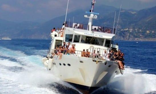Creuza De Ma Passenger Boat In Rapallo
