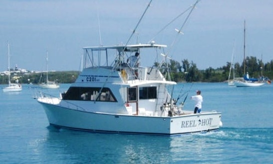 Sport Fisherman Boat Charter In St. Georges, Bermuda