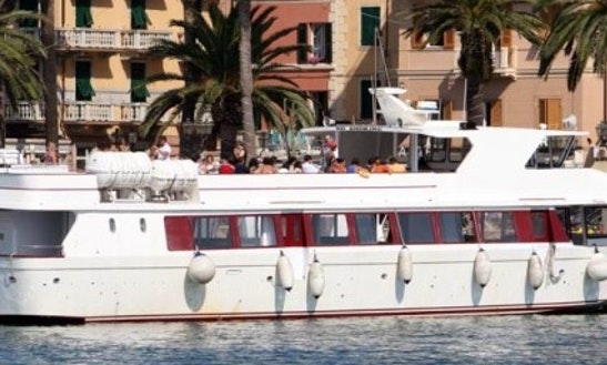 Orion Passenger Boat In Rapallo