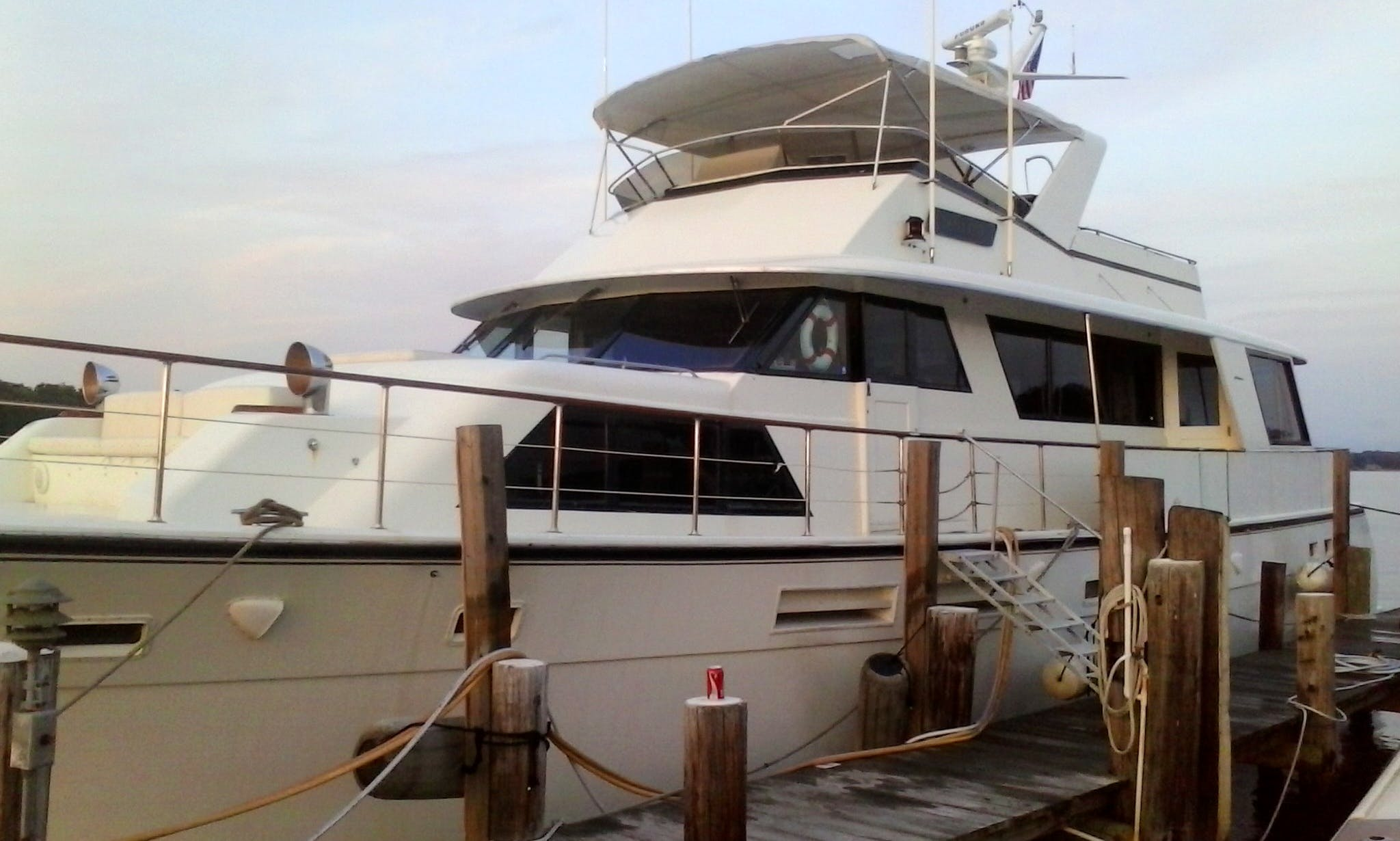"78' ""Laid Off"" Hatteras Motor Yacht In Edgewater, Maryland United States"