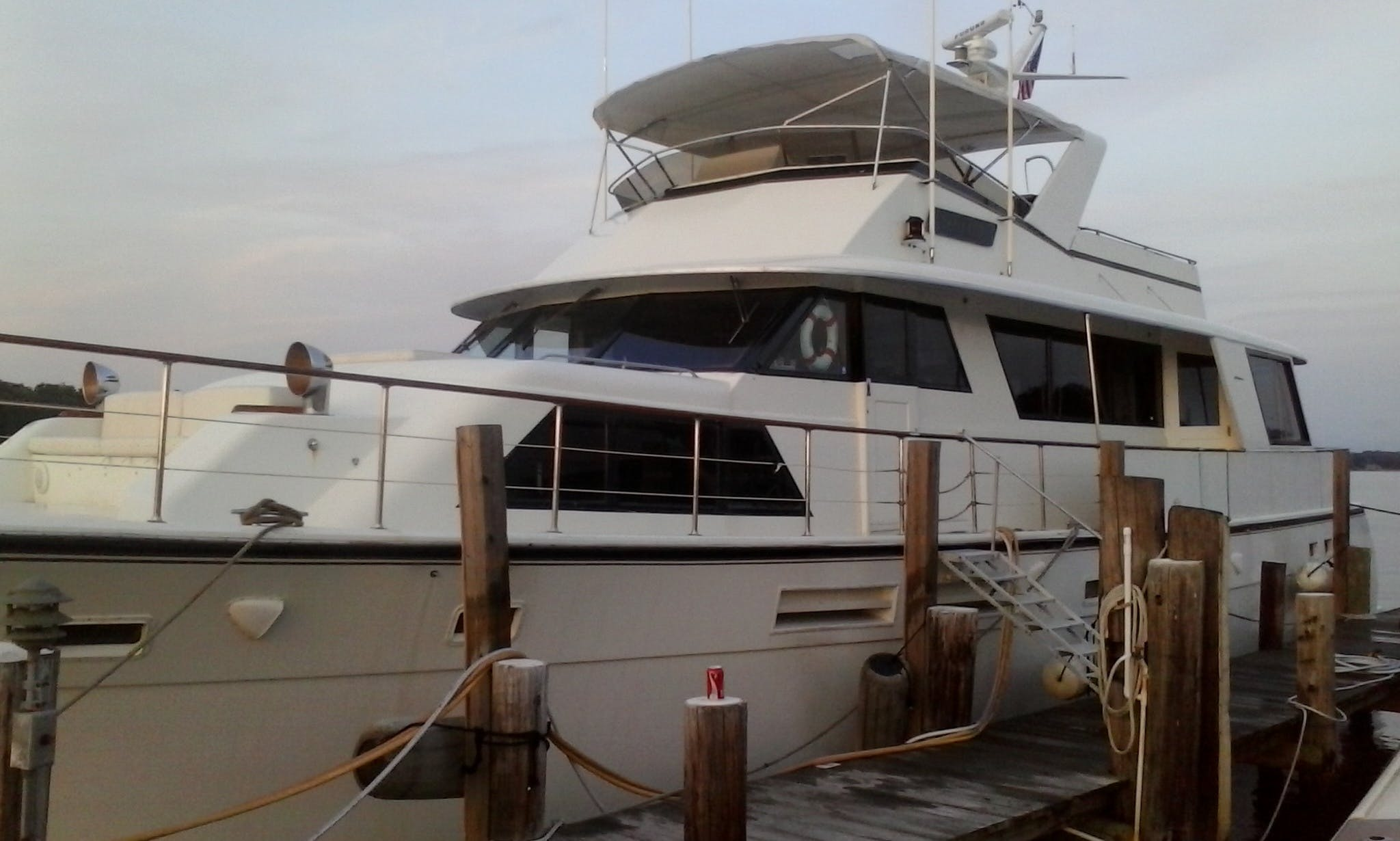"""78' """"Laid Off"""" Hatteras Motor Yacht In Edgewater, Maryland United States"""