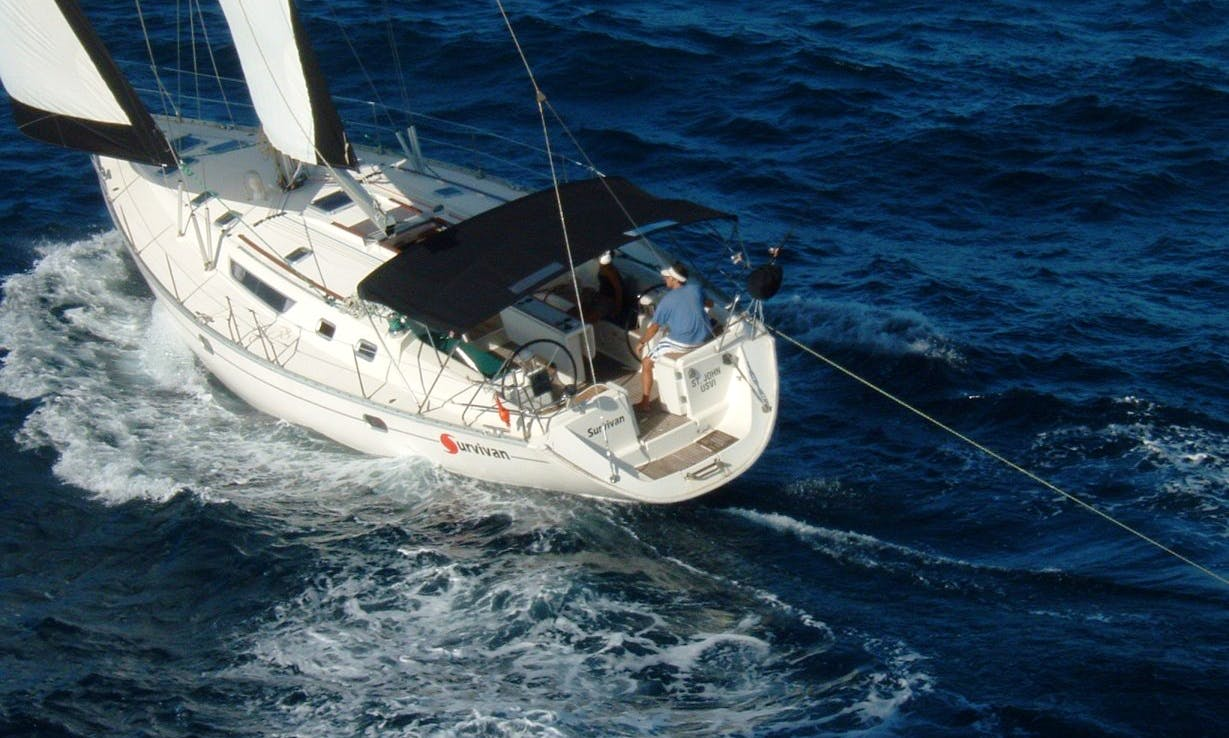 46' Jeanneau Sailing Yacht Captained Charter in St. John