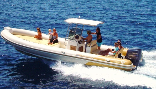 The Tempest Cap 900 Inflatable Rental In Golfo Aranci