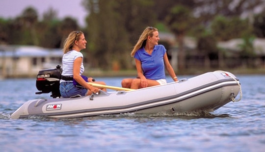 Cruise Italy On Inflatable Boat K-18  Rental