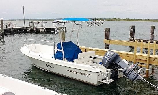 Fishing Charter On 24ft Aquasport Boat In San Juan, Puerto Rico