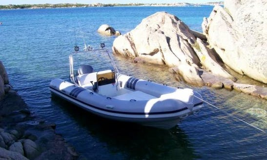 Gommone Sacs 200hp Rental In Milazzo, Italy