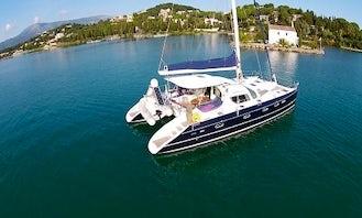 Charter the Alliaura Privilege 495 Cruising Catamaran in Kontokali, Greece for 8 People