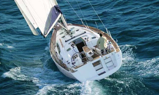 'Ventura' Luxury Monohull  Oceanis 40 Charter  in Trogir