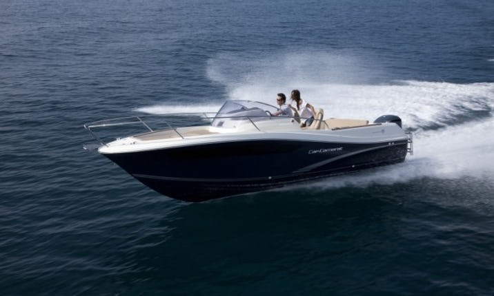 Power Yacht Jeanneau Cap Camarat 755 in Croatia | GetMyBoat