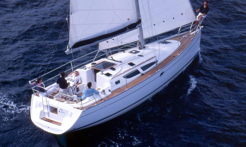 Charter  Sun Odyssey 35 'BELA VERONICA 'in Trogir