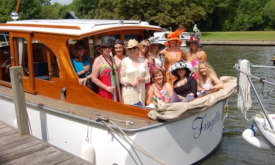 Charter A Van Lent Motor Yacht For 12 Person In Windsor, England With Experienced Skipper