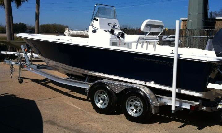 Guided Fishing Charters On 23' Center Console In Galveston, Texas