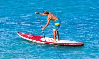 Paddleboard Rental in Alykes Beach Zakynthos