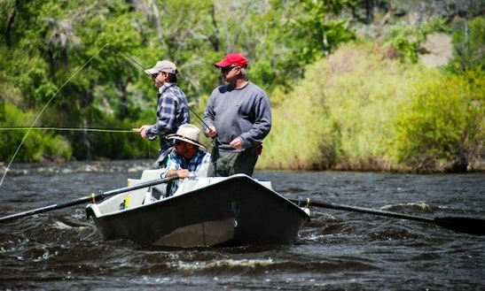Fly Fishing Trip On Big Hole River