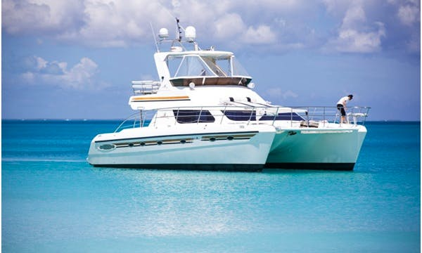 "Charter 70ft ""Dream Aweigh II"" Power Catamaran In Caicos Islands, Turks and Caicos Islands"