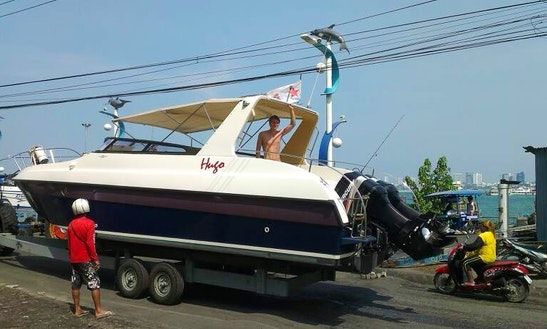 Hire A Motor Yacht For 5 Awesome People In Muang Pattaya, Thailand!