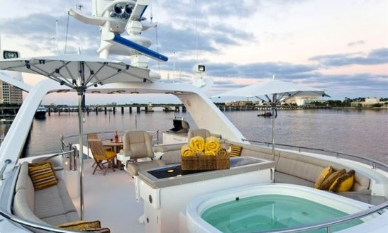 Charter 130' Sojourn Yacht In Los Angeles